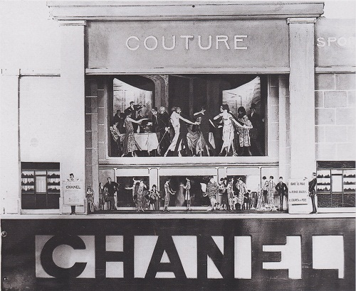 An-invitation-to-Chanel's-first-fashion-show-in-the-Rue-Cambon-in-Paris