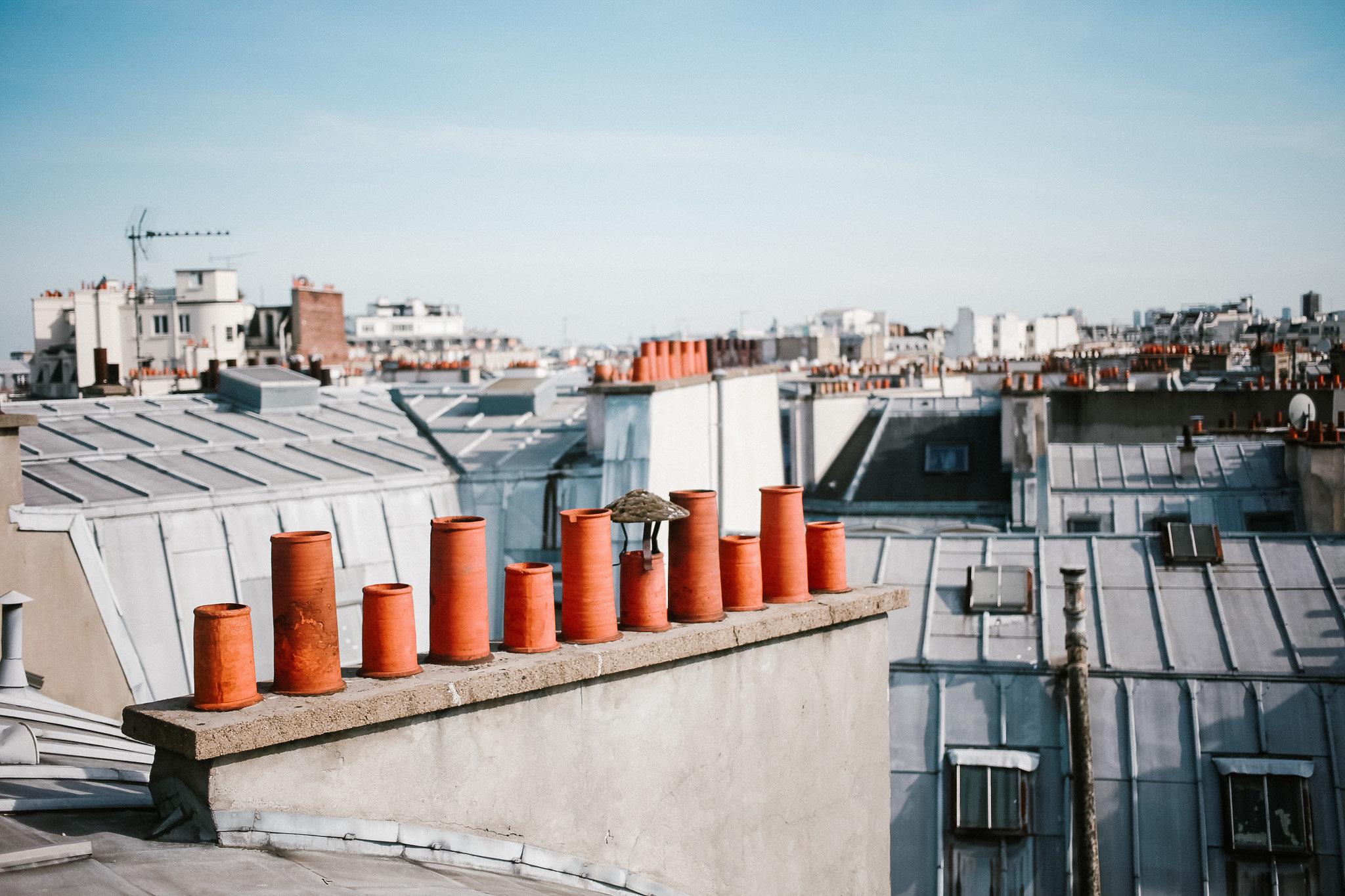 Paryskie dachy