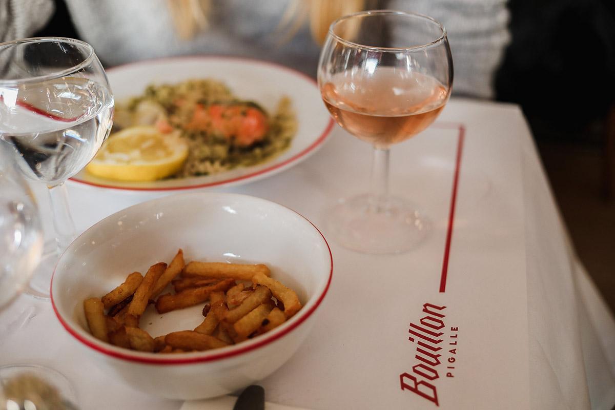 modna restaurcja paryz