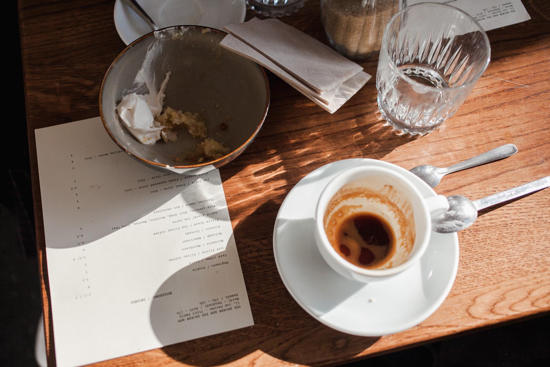 gdzie wypić kawę w paryzu
