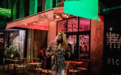 modny bar w paryzu