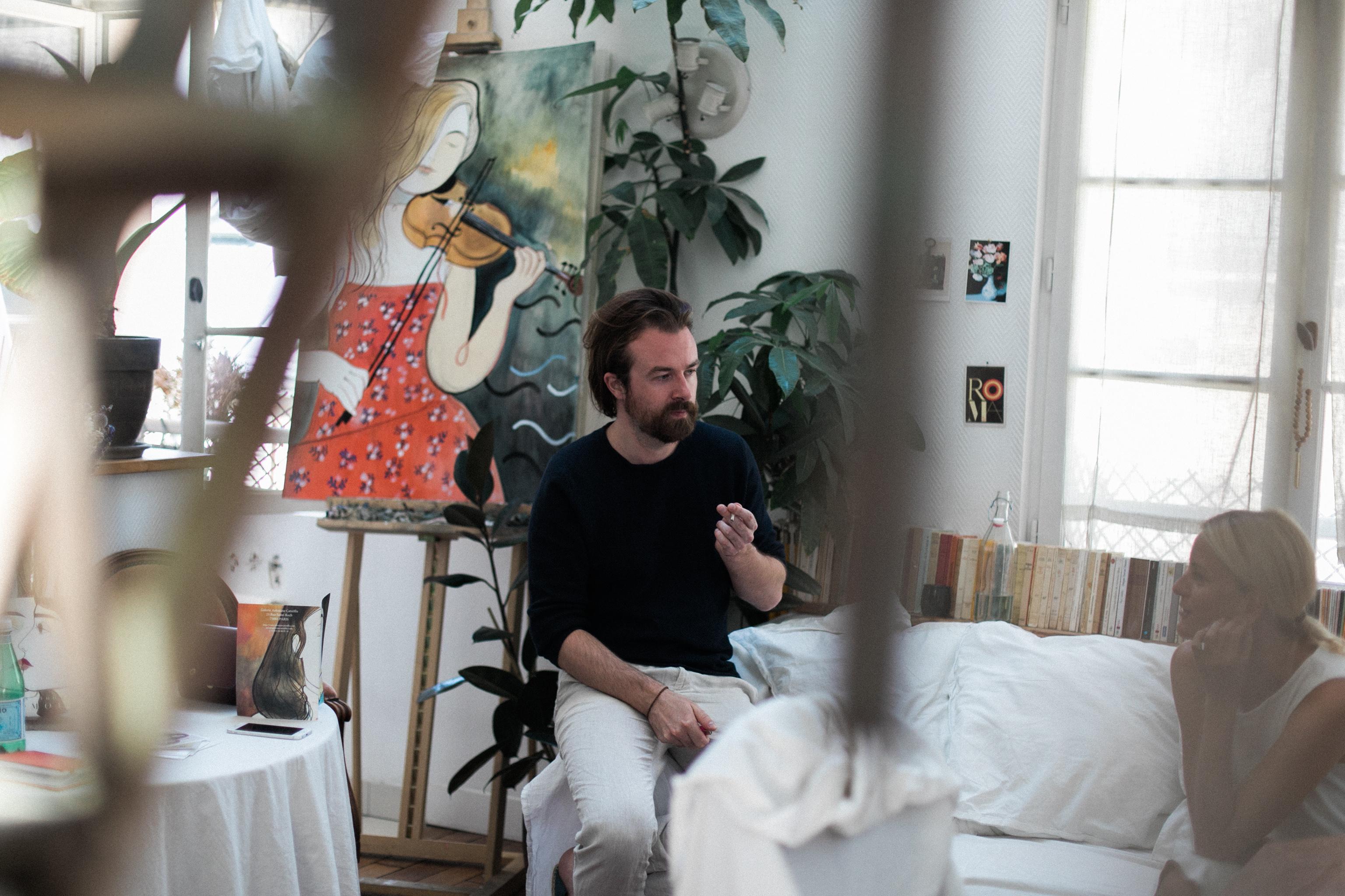Paryż artysta